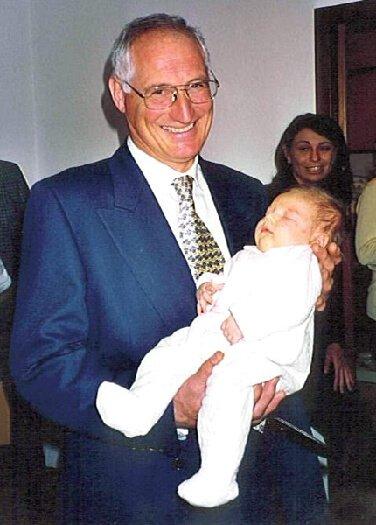 2000 Micol con il nonno