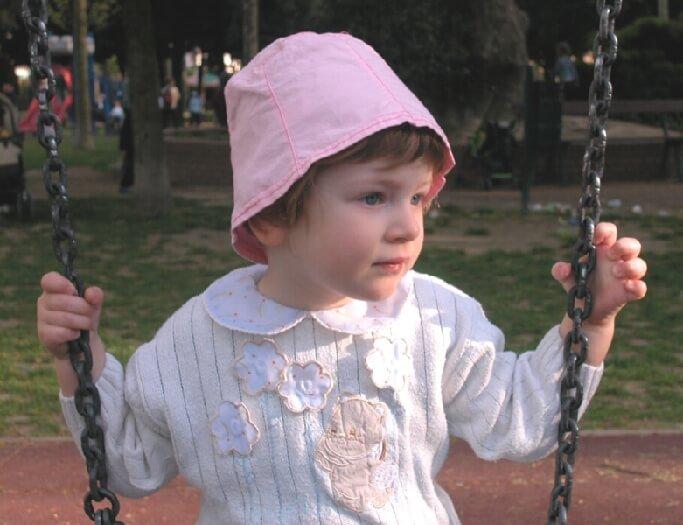 2003 Micol sull'altalena