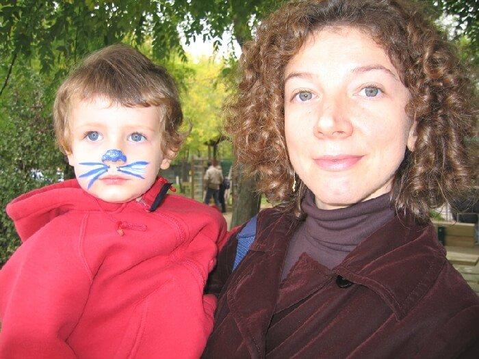 2005 Mia con la mamma