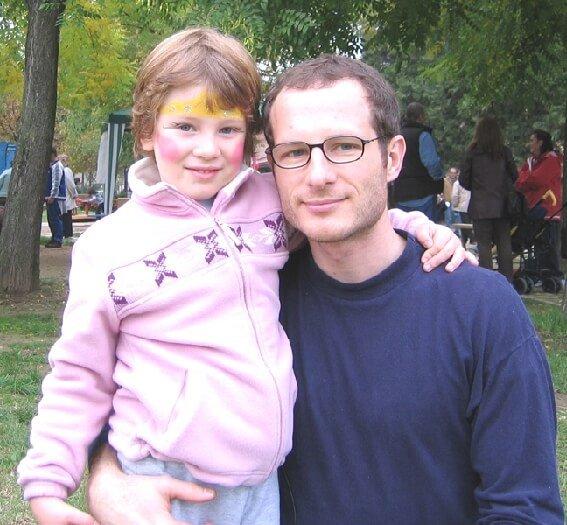 2005 Micol con il papà