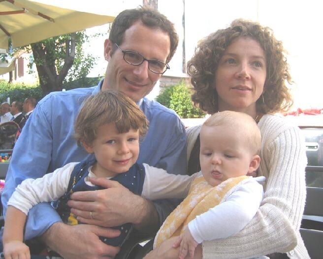 2005 con il cugino Giulio