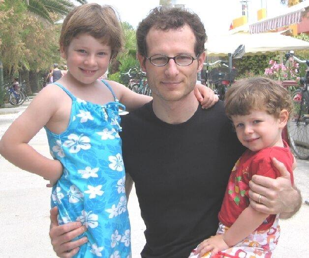 2005 con il papà
