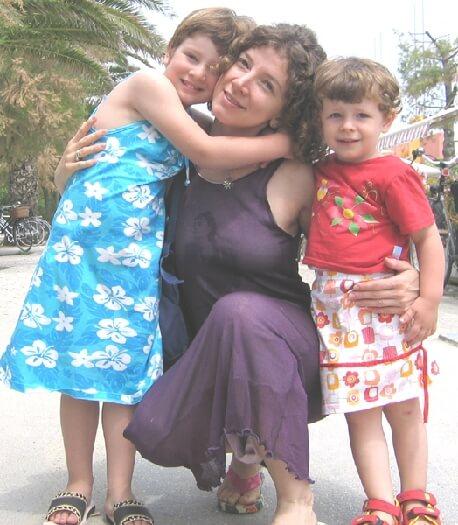 2005 con la mamma