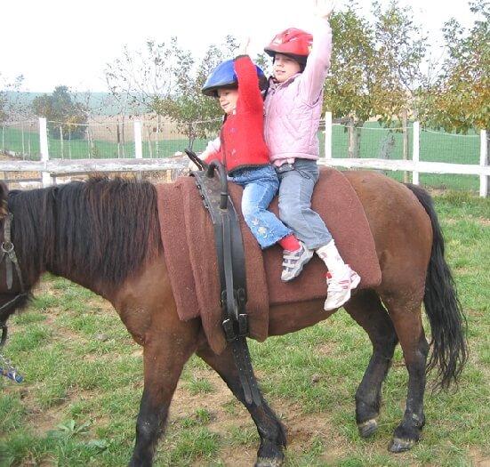 2005 insieme a cavallo