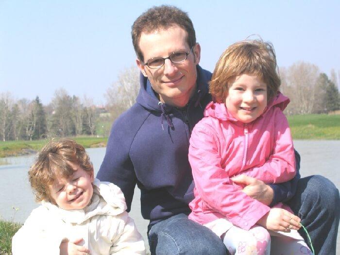 2005 le bimbe con il papà
