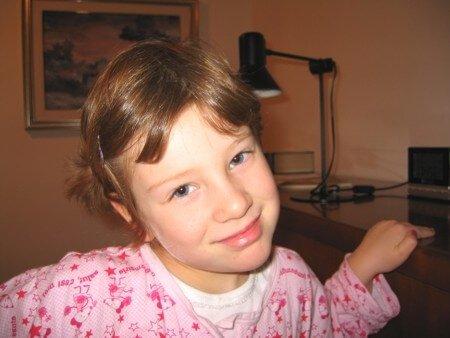 2006 Micol con il pigiama