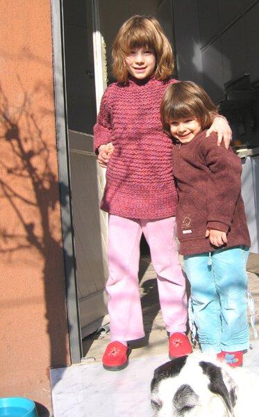 2006 inverno Mia e Micol