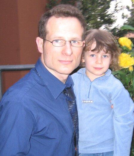 2007 Mia con il papà