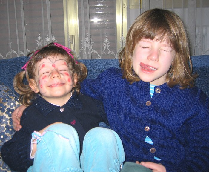 2007 Mia e Micol facce buffe