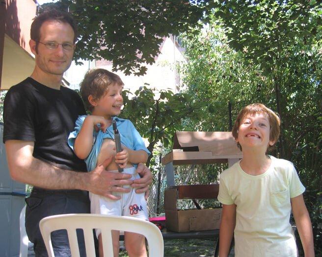 2007 in giardino