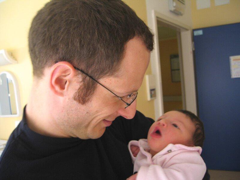 2008 Maia con il papà