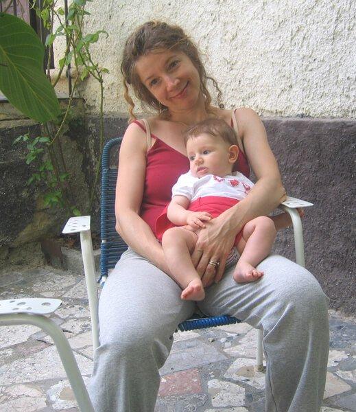 2008 Maia e la mamma a Lisciano