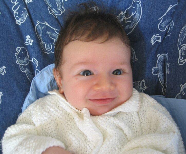 2008 Maia sorride
