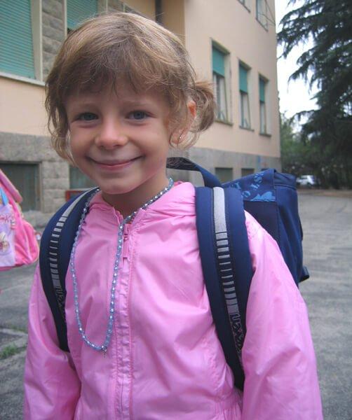 2008 Mia a scuola