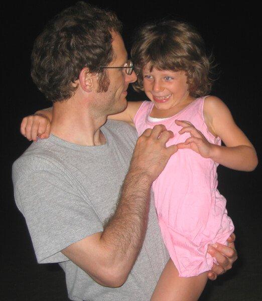 2008 Mia con il papà
