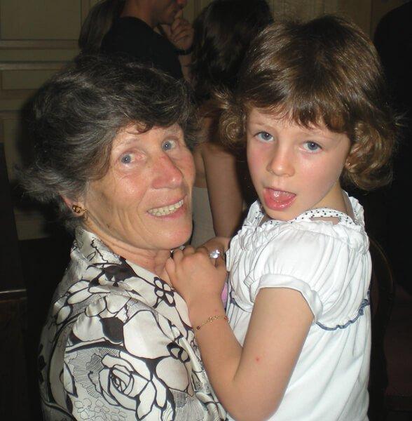 2008 Mia con la nonna