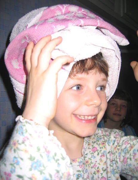 2008 Mia dopo la doccia