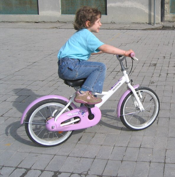 2008 Mia in bici