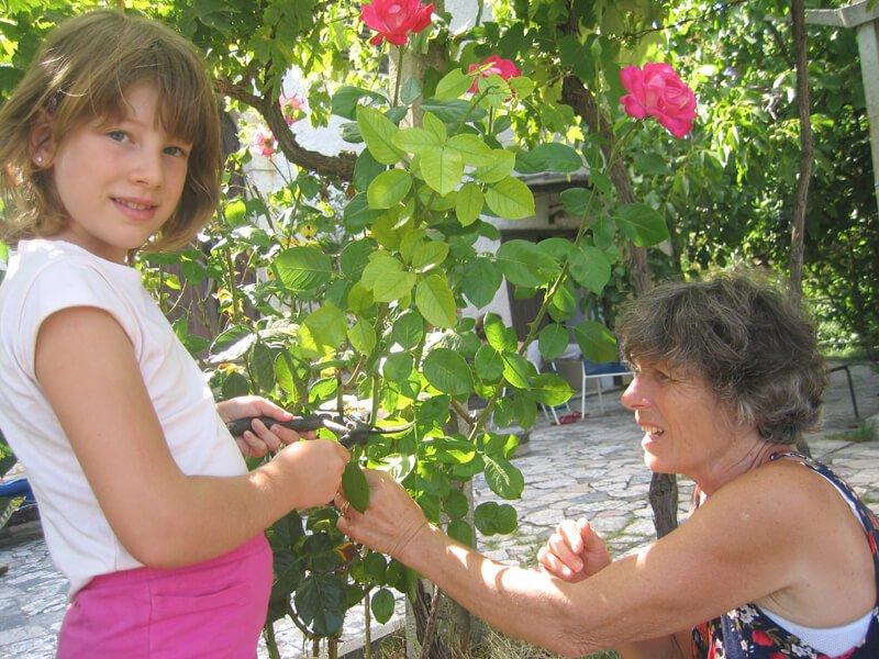 2008 Micol con la nonna