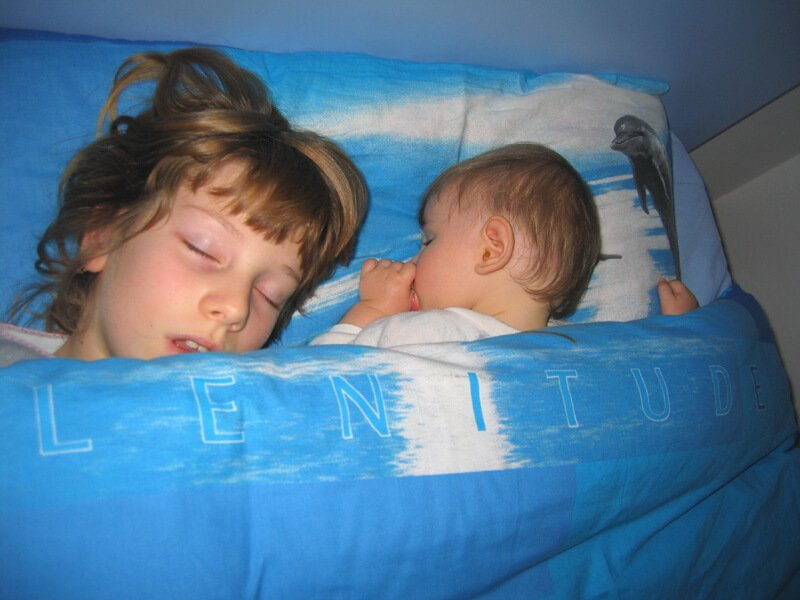 2008 Micol e Maia dormono