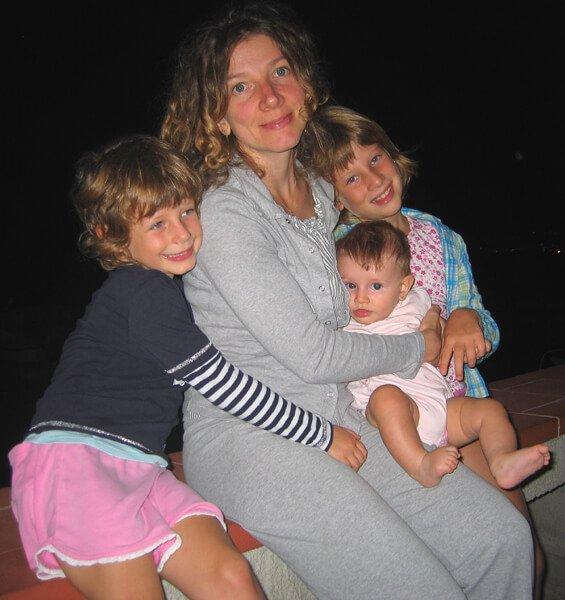 2008 le 3 bimbe con la mamma