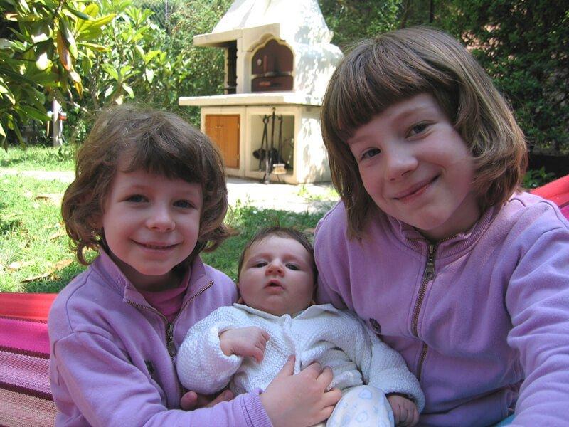 2008 le 3 sorelline all'aperto