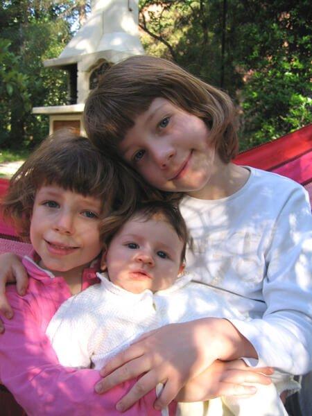 2008 le 3 sorelline sull'amaca