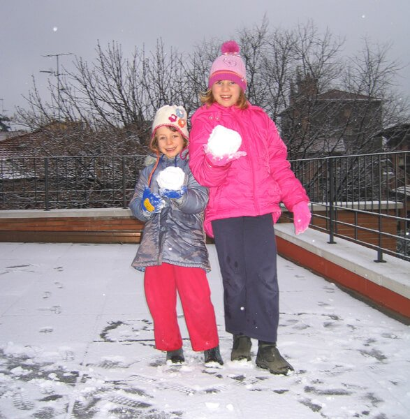2008 palle di neve