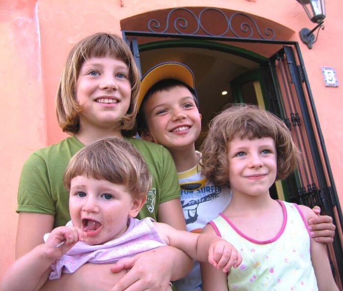 2009 le 3 bimbe con Tommaso