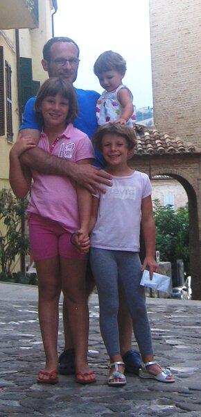 2009 le 3 bimbe con papà