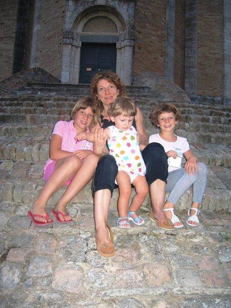 2009 settembre con la mamma