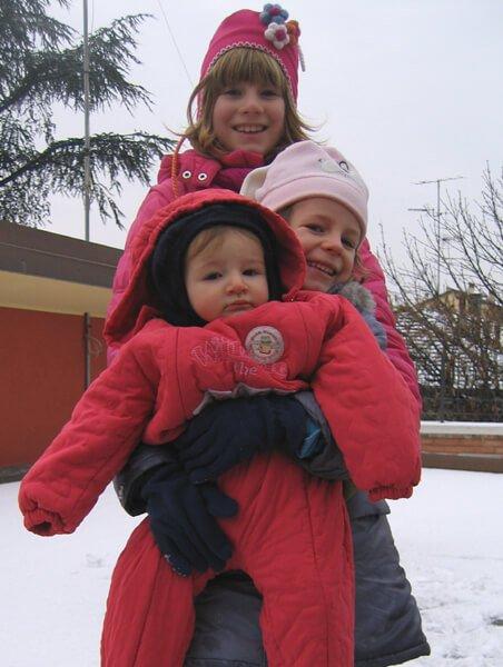 2009 sorelle nella neve