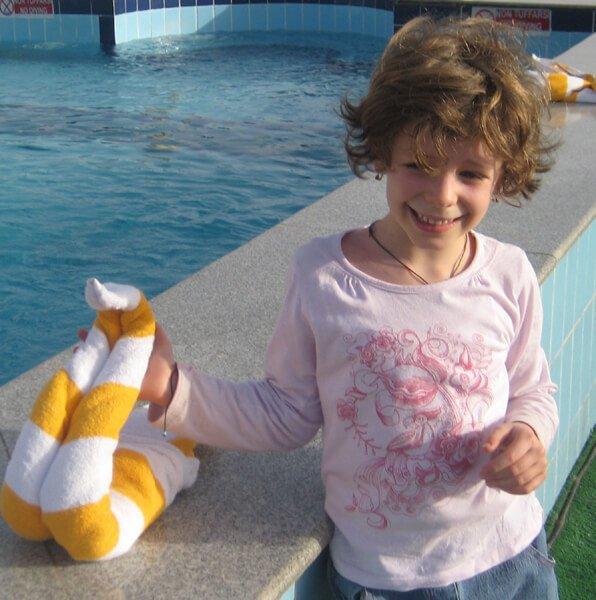 2010 Mia in Egitto Piscina