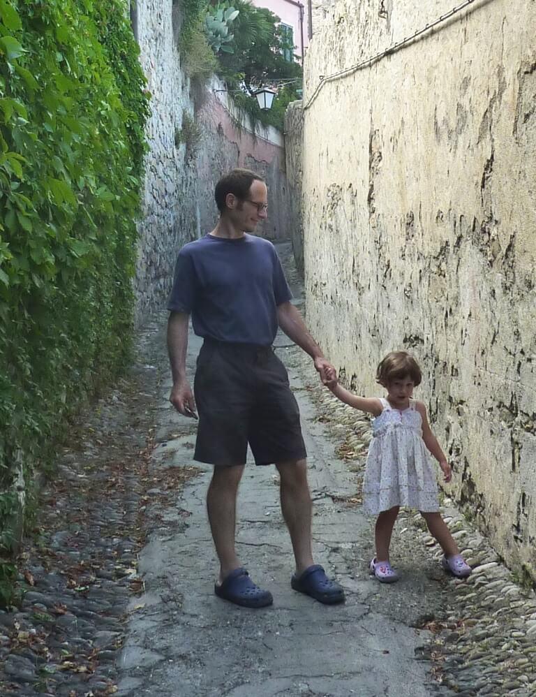 2010 agosto Maia con Massimo