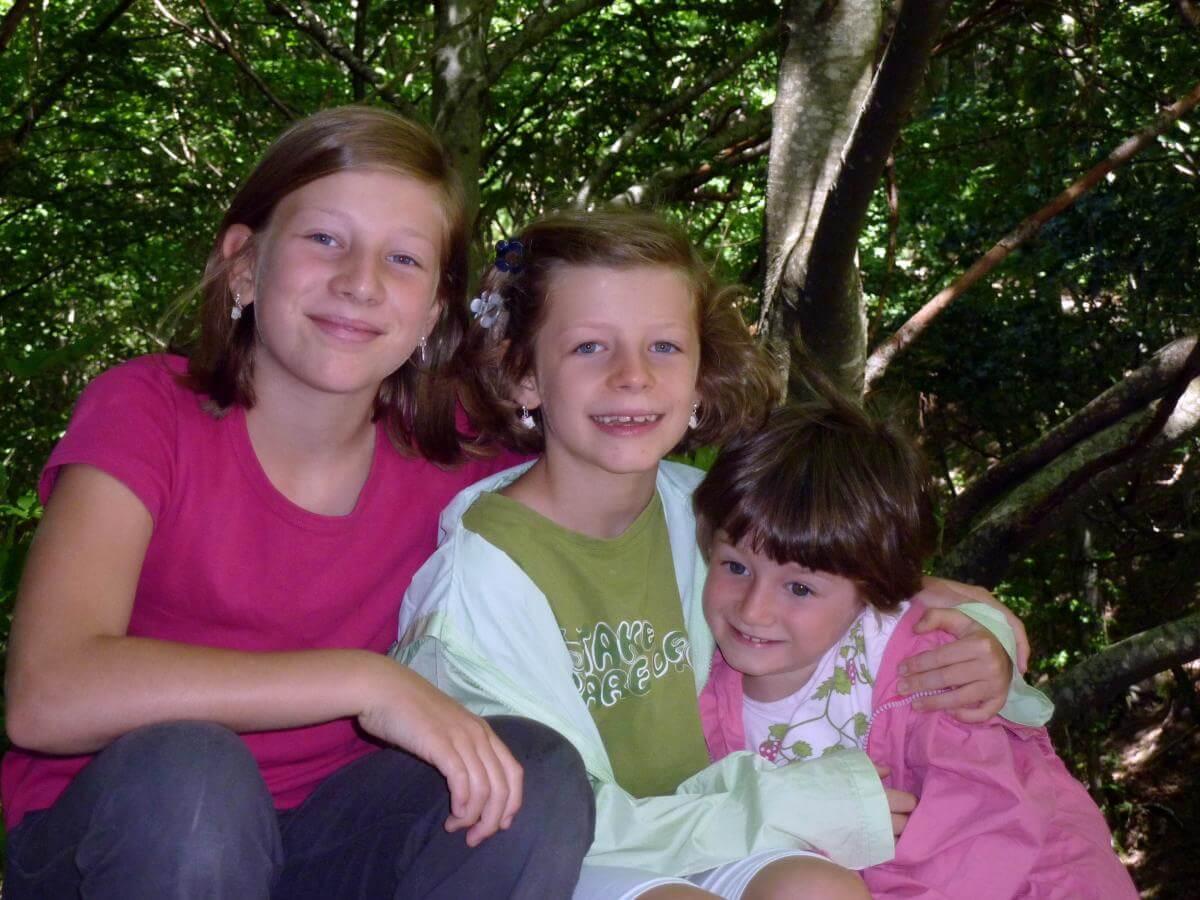 2011 le 3 sorelline a Castelluccio