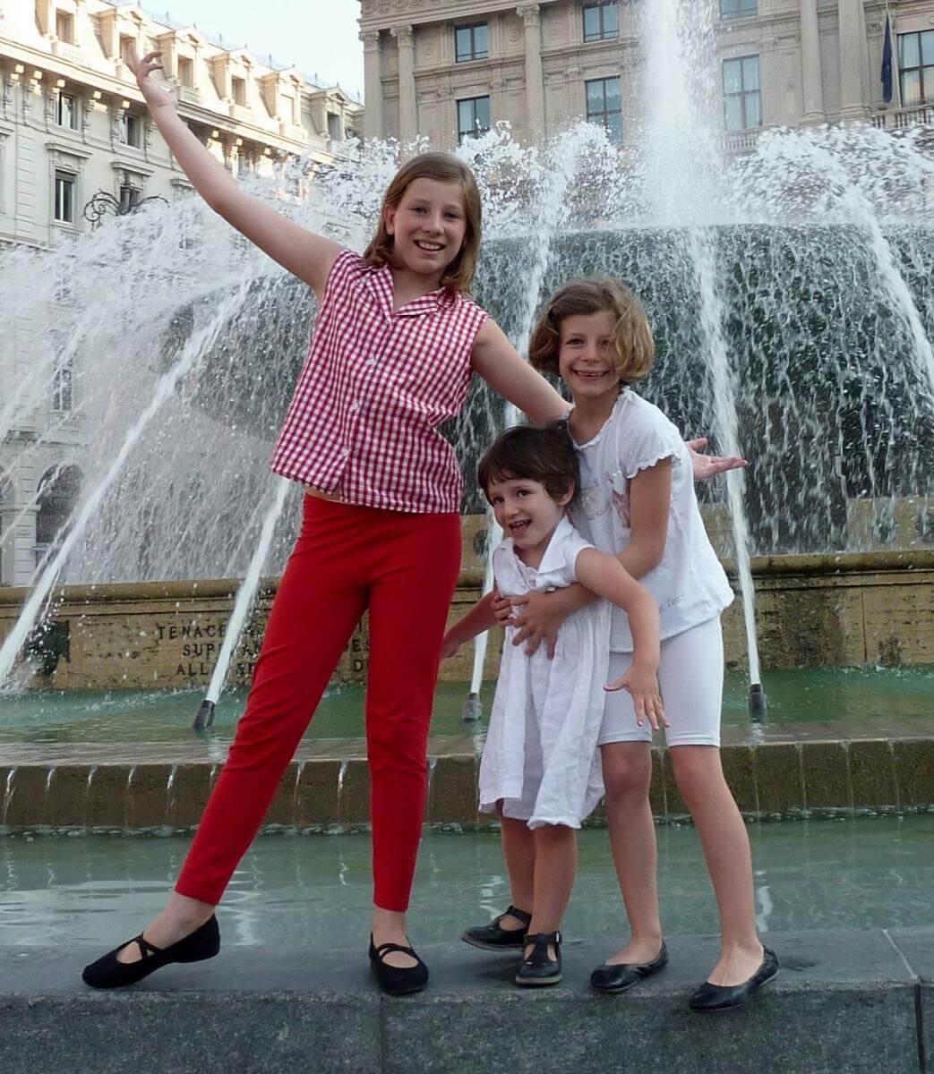 2011 le 3 sorelline a Genova