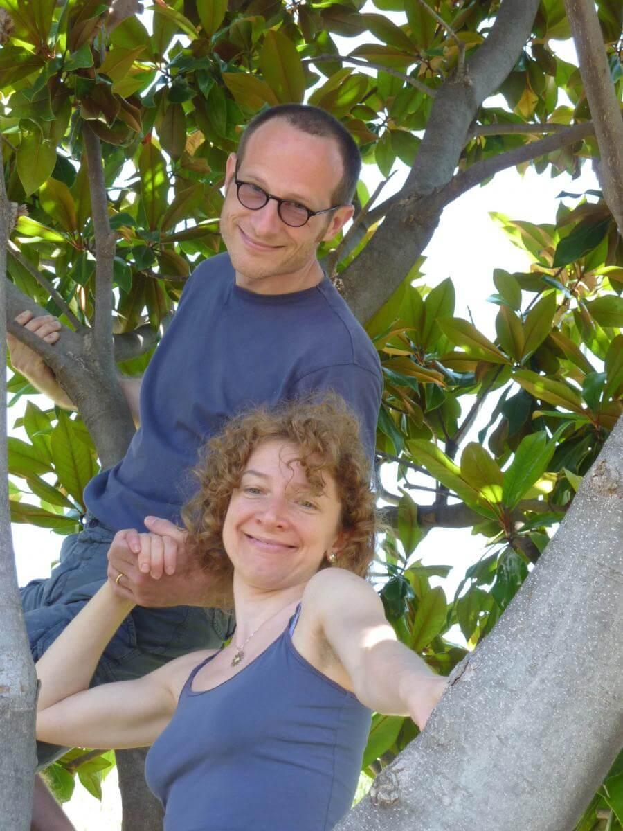 2012 Massimo e Margherita sull'albero