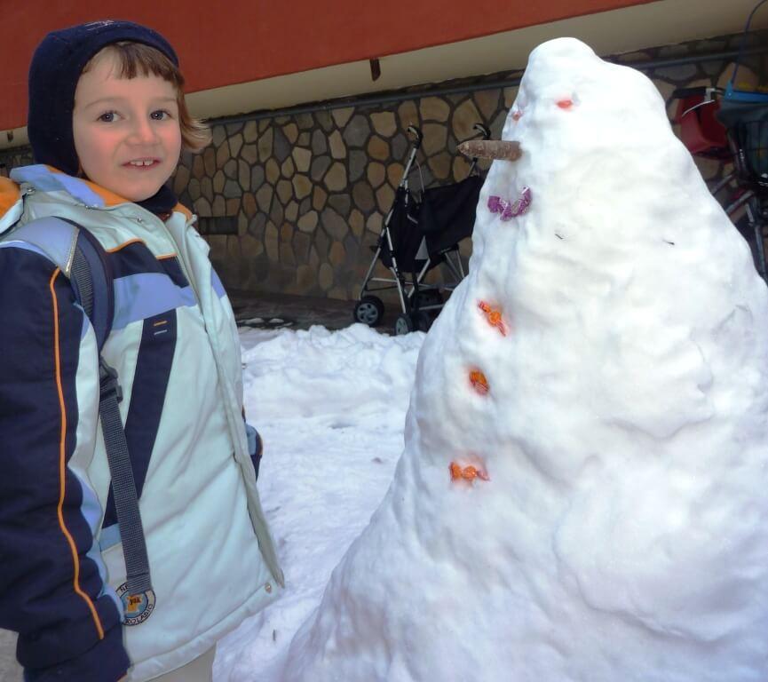 2012 il pupazzo di neve