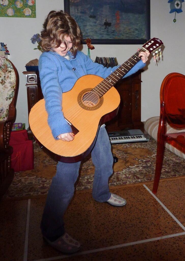 2013 Mia chitarrista