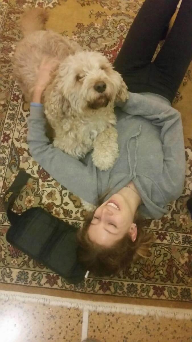 2016 con il cane