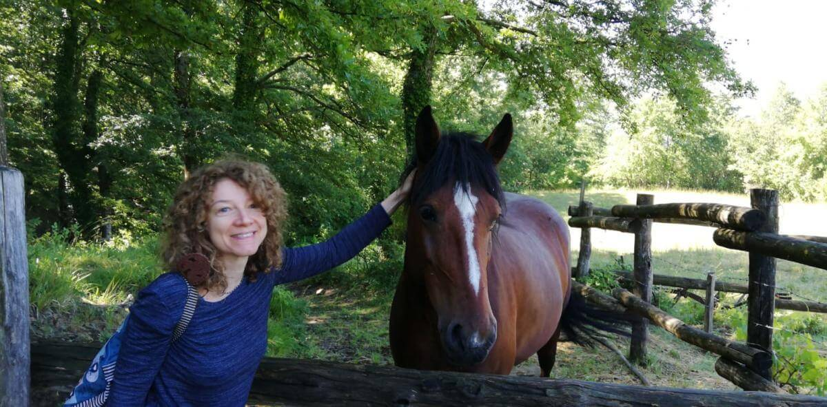 2019 Margherita con un cavallo